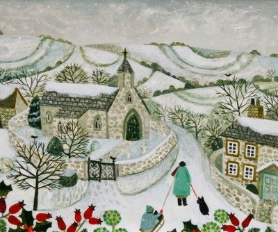 British Artist Vanessa BOWMAN - Homeward Bound