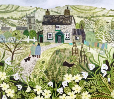 British Artist Vanessa BOWMAN - Tom's Cottage