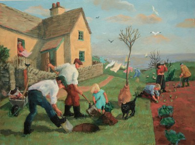 Vivienne LUXTON - Planting a Tree