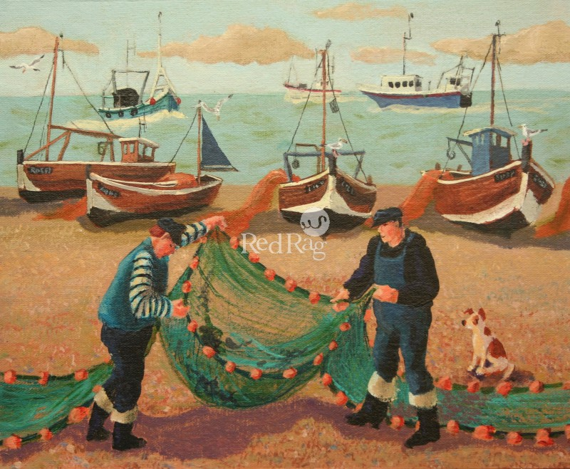Vivienne LUXTON - Cleaning the Nets