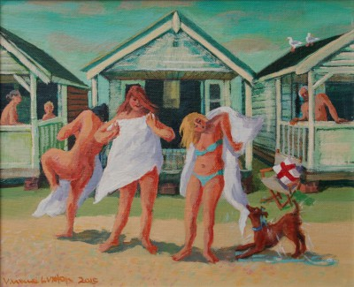 British Artist Vivienne LUXTON - Bathing Belles