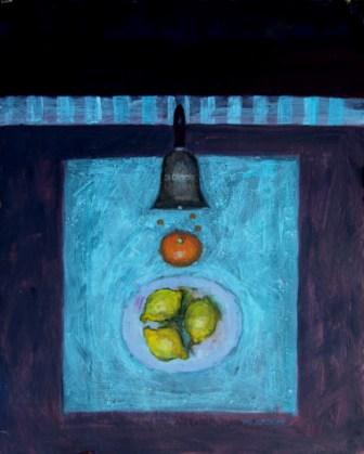 British Artist William SELBY - Orange and Lemons