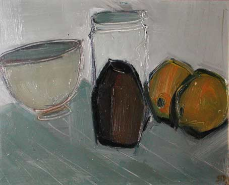Dawn SIDOLI - Still Life with Lemons ll