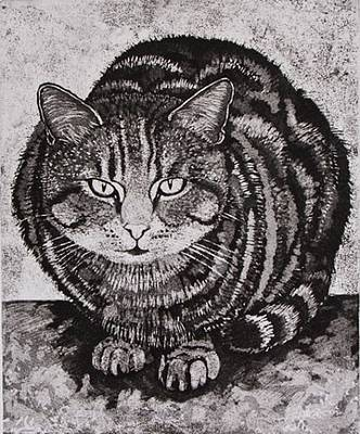 Linda Richardson - Tabby Tom Cat