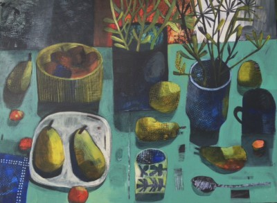 Este MacLEOD - Williams Pears with Silver Spoon