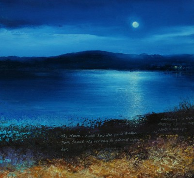 Amanda HOSKIN - Watching the Moon over Bryher, Scillies
