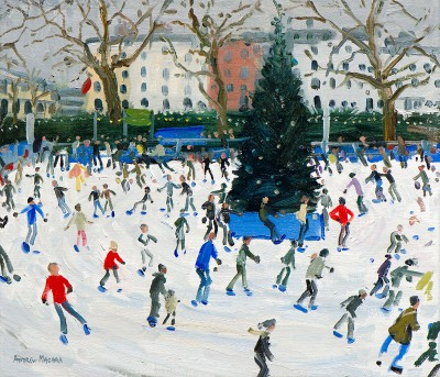 Limited Edition Prints Artist Andrew Macara - Skating