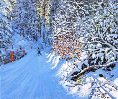 Andrew MACARA  - Skiing the Pleney Piste, Morzine