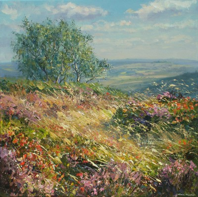 Mark PRESTON - August Afternoon, Froggatt Edge