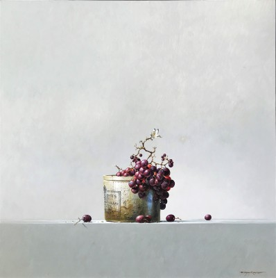 British Artist Bryan HANLON - Marmalade and Grapes
