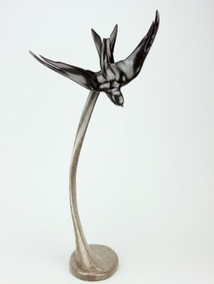 Sculpture and Sculptors Artist Carl LONGWORTH - Swift (Edition 18/25)