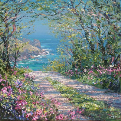Mark PRESTON - Cornish Elms and Red Campion, Gurnard's Head