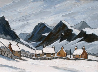 David BARNES - Towards Llanberis
