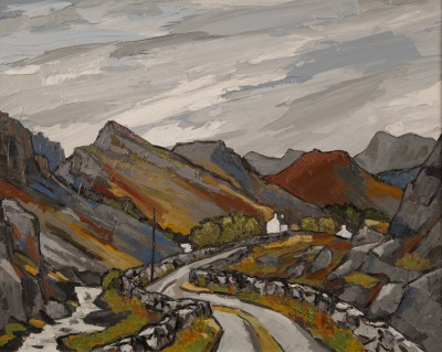 David BARNES - Above Llanberis