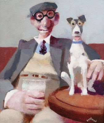 British Artist David EUSTACE - The Wrong Glasses