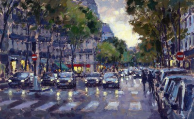 David FARREN - Boulevard Saint-Germain
