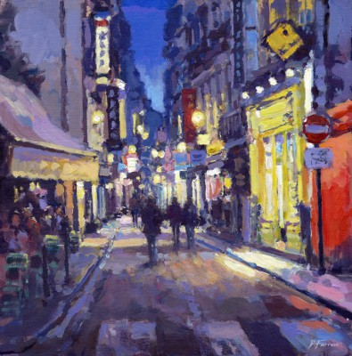 David FARREN - Cafe Lights, La Rive Gauche