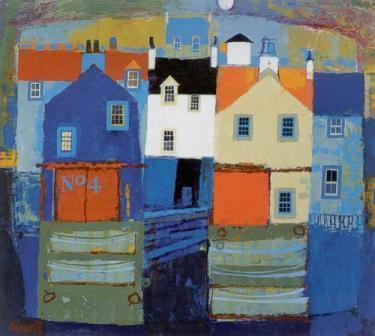 Limited Edition Prints Artist George Birrell - Sea Town