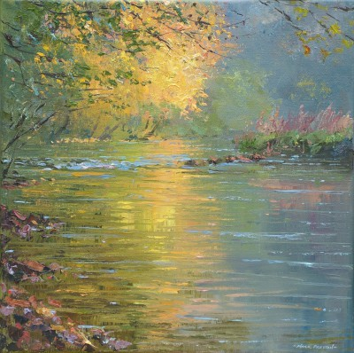 Mark PRESTON - Golden Reflections, Miller's Dale