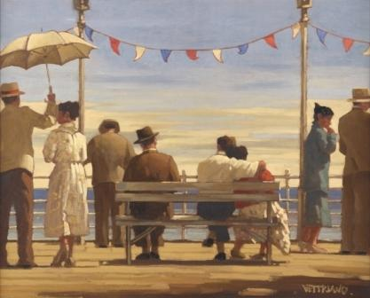 Limited Edition Prints Artist Jack Vettriano - The Pier