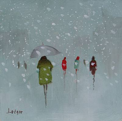 Janet LEDGER - First Snow of the Winter