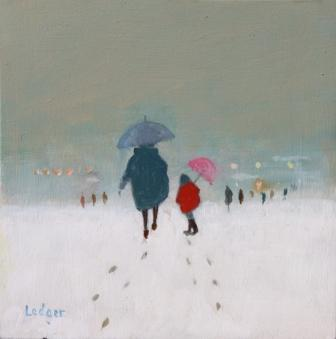 Janet LEDGER - The Pink Umbrella