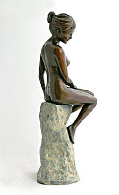 Sculpture and Sculptors Artist Jeff CHILDS - The Warmth of the Sun