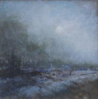 British Artist Judith GARDNER  RBA - Winter Light
