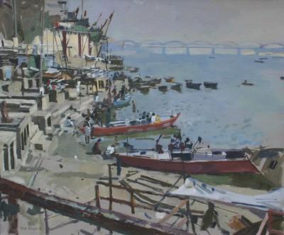 378.JPG (1600×1307)   Venice painting, Seascapes art, Venice