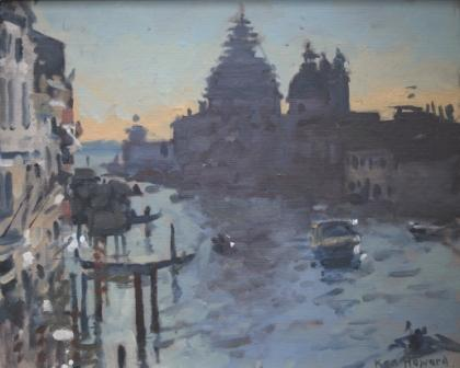 Ken Howard artist, paintings and art at the Red Rag