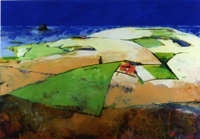 Limited Edition Prints Artist Liz Knox - East Lothian Aspect