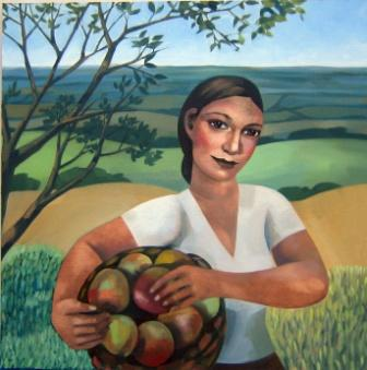 Elizabeth RIDGWAY - Fruit Picking