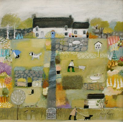 Louise RAWLINGS - Springtime in the Garden