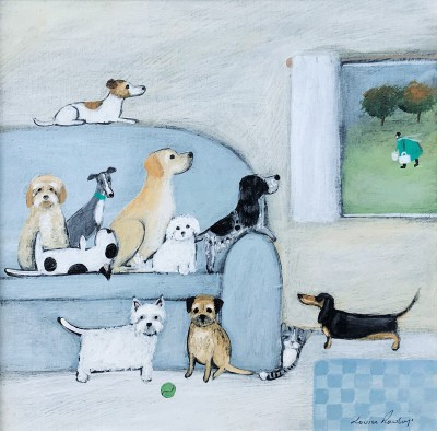 British Artist Louise RAWLINGS - She'd Better Have Snacks