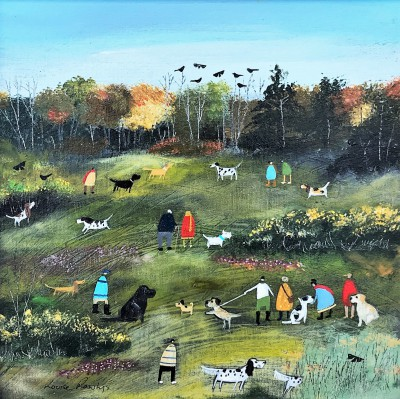 British Artist Louise RAWLINGS - The Arrival of Autumn