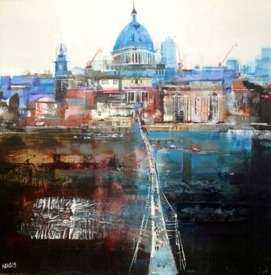 Nagib KARSAN - St Paul's and the Millenium Bridge