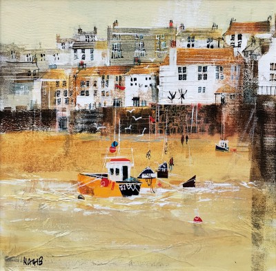 British Artist Nagib KARSAN - Sunset, St Ives