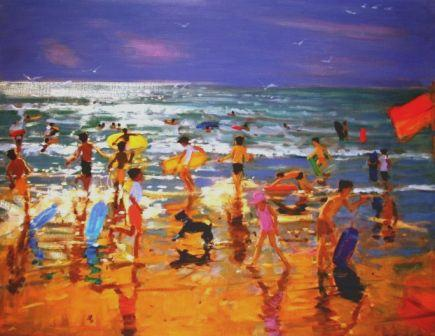 Limited Edition Prints Artist Andrew Macara - The Beach