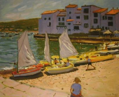 Limited Edition Prints Artist Andrew Macara - Sail Boats