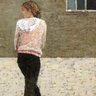 Peter BEESON - Girl Turning Portmeor