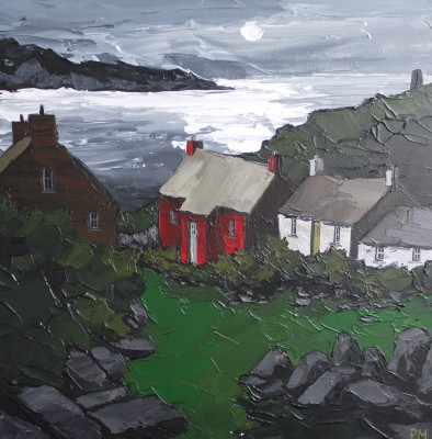 Peter MORGAN - Midnight Moon, Abereiddy