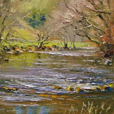 Rex PRESTON - River Dove in Spring