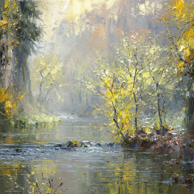 Rex Preston - Autumn River