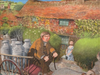 British Artist Richard ADAMS - The Milkman