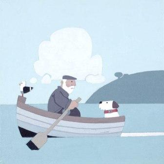 Limited Edition Prints Artist Sasha Harding - Row Your Boat