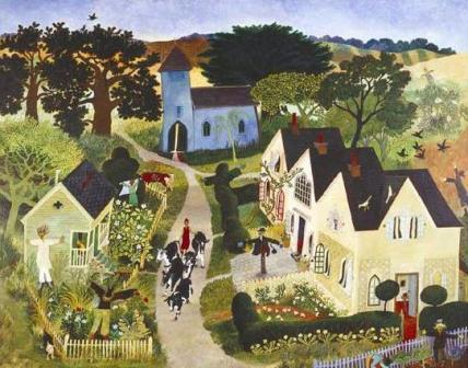 Limited Edition Prints Artist Anna Pugh - Scarecrow