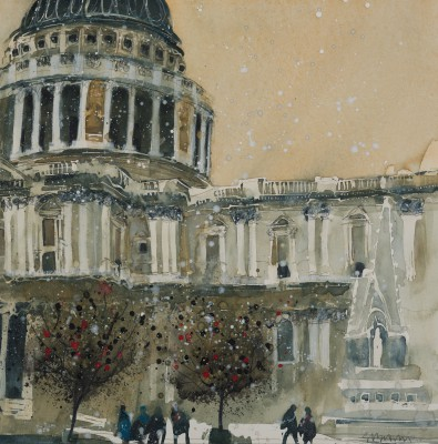 Susan BROWN - St Paul's Cathedral, Late Autumn