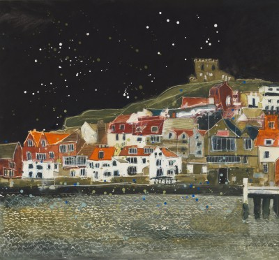 Silvery Light, Whitby painting by artist Susan BROWN