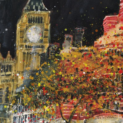 Limited Edition Prints Artist Susan Brown - Big Ben, Norman Shaw Building