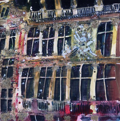 Limited Edition Prints Artist Susan Brown - Detail, Brussels